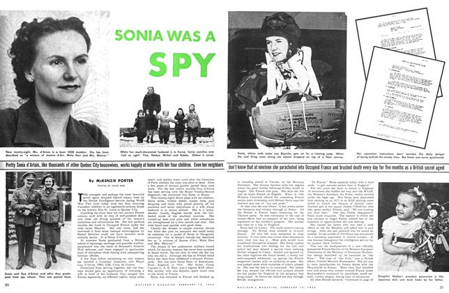 Article Preview: SONIA WAS A SPY, February 1953 | Maclean's