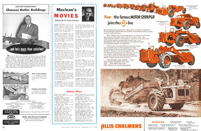 Article Preview: Maclean's MOVIES, February 1953 | Maclean's