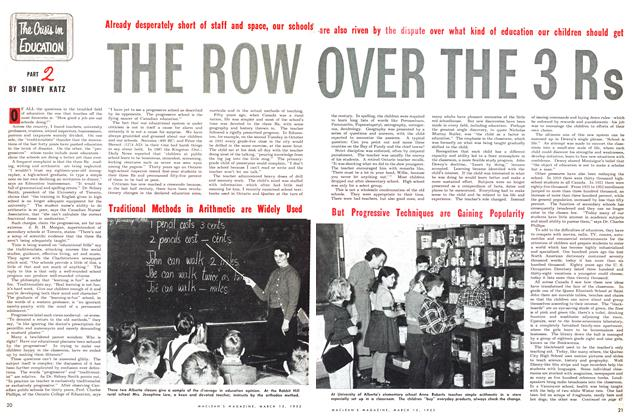 Article Preview: The Crisis in EDUCATION THE ROW OVER THE 3 Rs, March 1953 | Maclean's