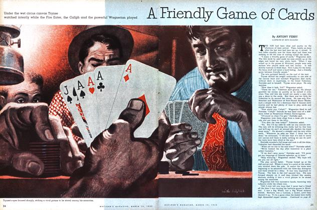 Article Preview: A Friendly Game of Cards, March 1953 | Maclean's