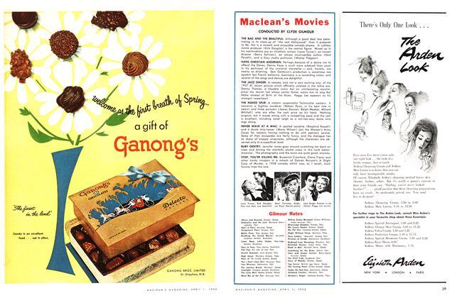 Article Preview: Maclean's Movies, April 1953 | Maclean's