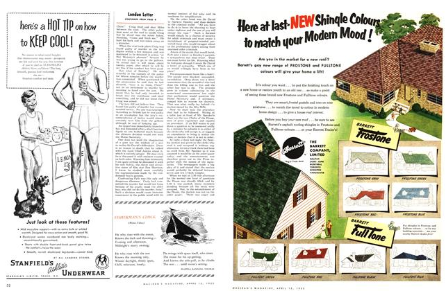 Article Preview: FISHERMAN'S CLOCK, April 1953 | Maclean's