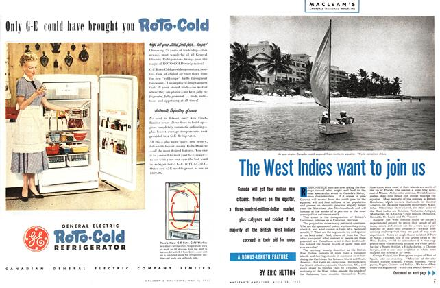 Article Preview: The West Indies want to join us, April 1953 | Maclean's