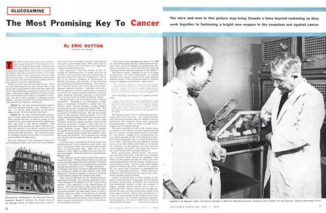 Article Preview: The Most Promising Key To Cancer, May 1953 | Maclean's