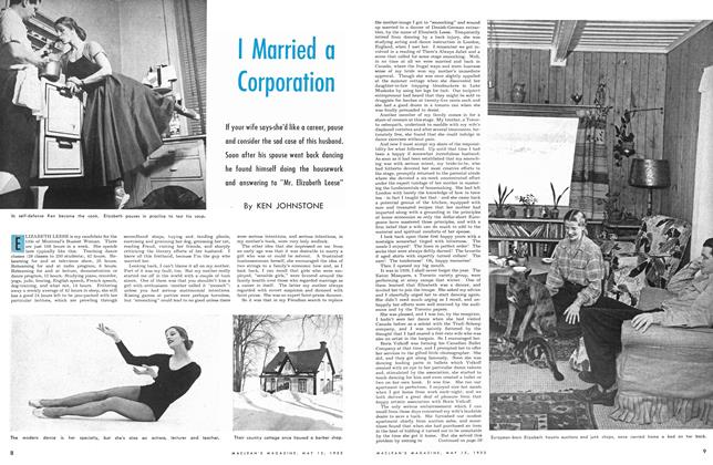 Article Preview: I Married a Corporation, May 1953 | Maclean's