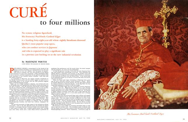 Article Preview: CURE to four millions, May 1953   Maclean's