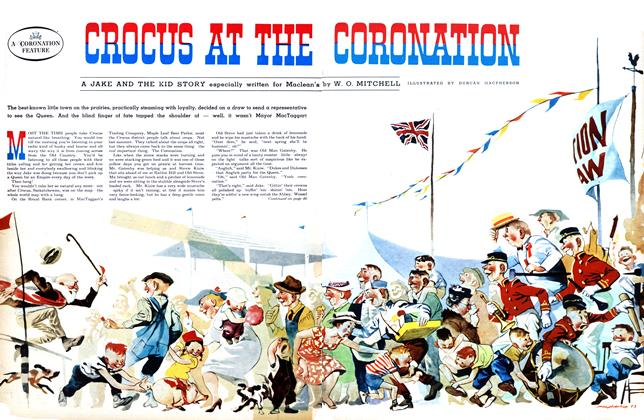 Article Preview: CROCUS AT THE CORONATION, June 1953 | Maclean's