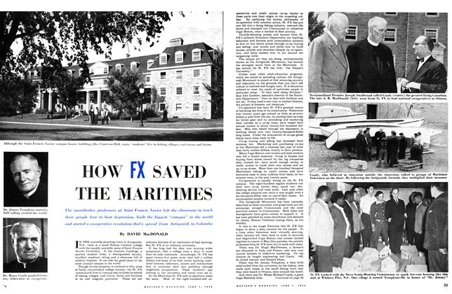 Article Preview: HOW FX SAVED THE MARITIMES, June 1953 | Maclean's
