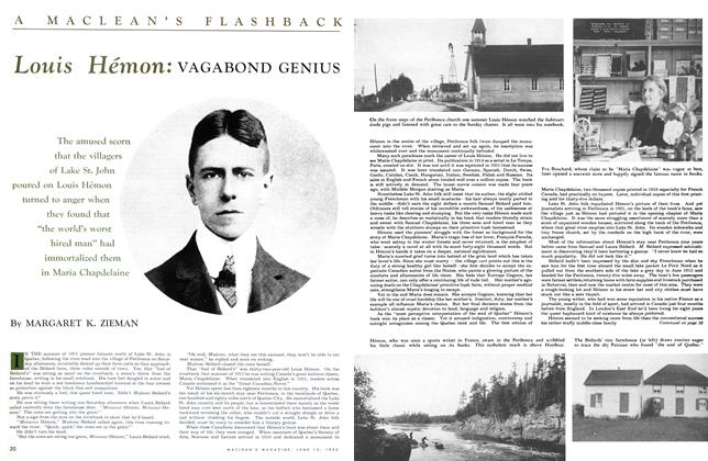 Article Preview: Louis Hémon: VAGABOND GENIUS, June 1953 | Maclean's