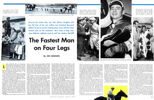 Article Preview: The Fastest Man on Four Legs, June 1953 | Maclean's