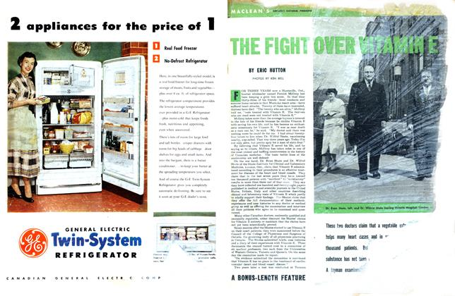 Article Preview: THE FIGHT OVER VITAMINE, June 1953 | Maclean's