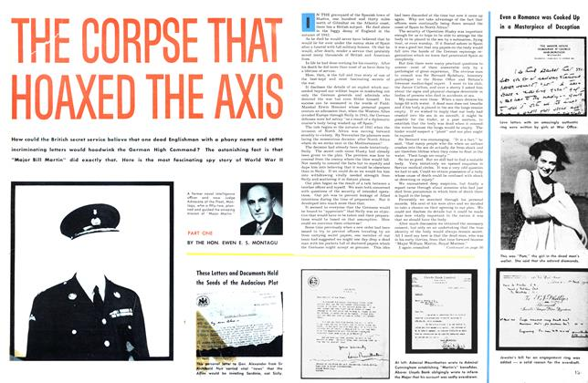 Article Preview: THE CORPSE THAT HOAXED THE AXIS, June 1953 | Maclean's