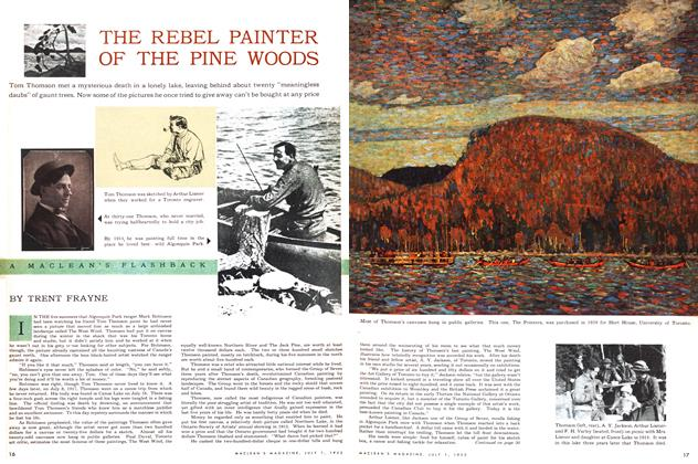 Article Preview: THE REBEL PAINTER OF THE PINE WOODS, July 1953 | Maclean's