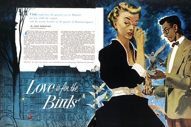 Article Preview: Love is the Birds, July 1953 | Maclean's