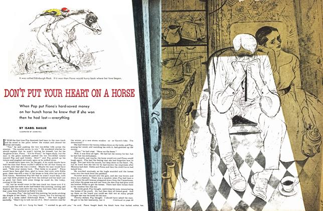 Article Preview: DON'T POT YOUR HEART ON A HORSE, August 1953 | Maclean's