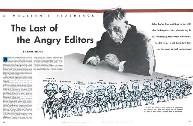 Article Preview: The Last of the Angry Editors, August 1953 | Maclean's