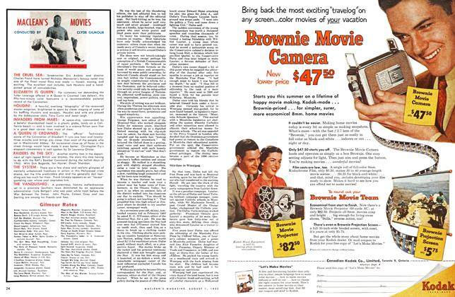 Article Preview: MACLEAN'S MOVIES, August 1953 | Maclean's