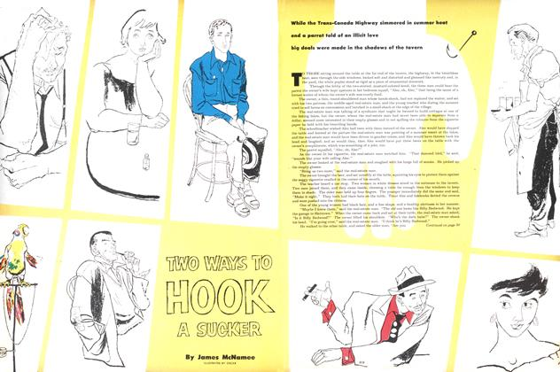 Article Preview: TWO WAYS TO HOOK A SUCKER, August 1953 | Maclean's