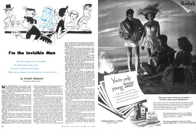 Article Preview: I'm the Invisible Man, August 1953 | Maclean's