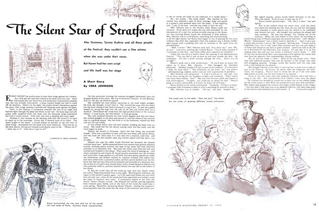 Article Preview: The Silent Star of Stratford, August 1953 | Maclean's