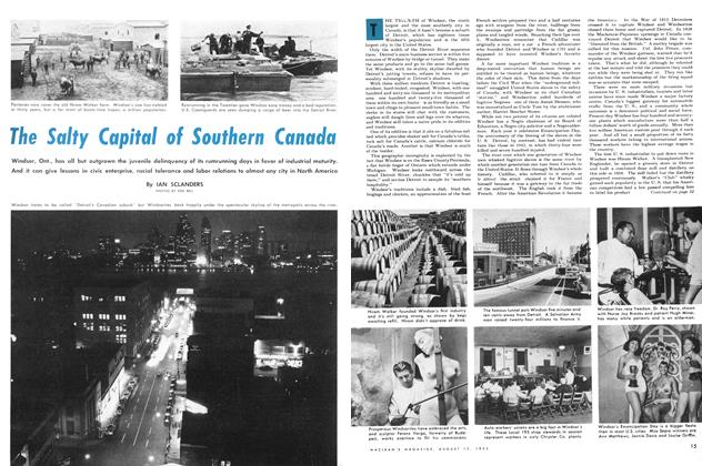 Article Preview: The Salty Capital of Southern Canada, August 1953 | Maclean's