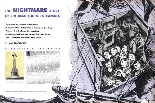 Article Preview: THE NIGHTMARE STORY OF THE IRISH FLIGHT TO CANADA, September 1953 | Maclean's