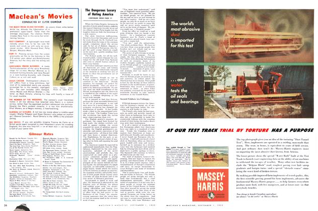 Article Preview: Maclean's Movies, September 1953 | Maclean's