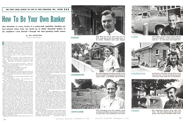 Article Preview: How To Be Your Own Banker, September 1953 | Maclean's