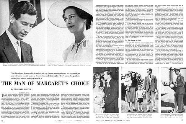 Article Preview: THE MAN OF MARGARET'S CHOICE, September 1953 | Maclean's