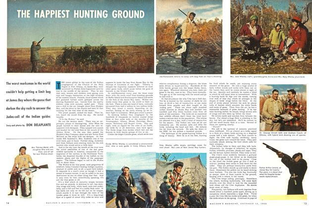 Article Preview: THE HAPPIEST HUNTING GROUND, September 1953 | Maclean's