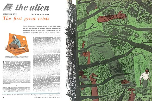 Article Preview: The first great crisis, October 1953 | Maclean's