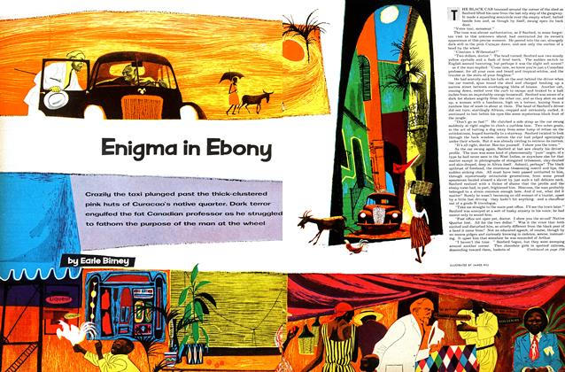 Article Preview: Enigma in Ebony, October 1953 | Maclean's