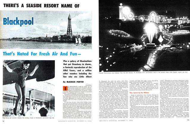 Article Preview: THERE'S A SEASIDE RESORT NAME OF Blackpool, October 1953 | Maclean's