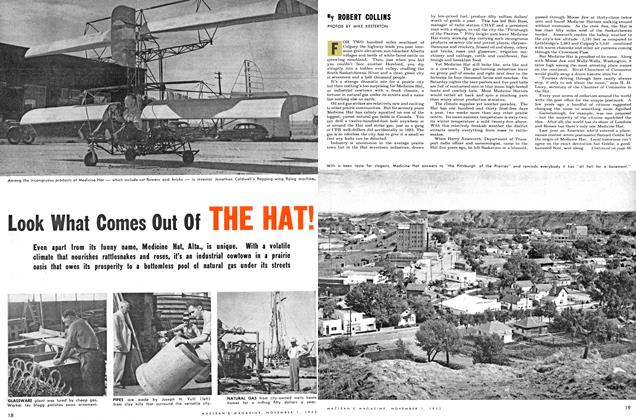 Article Preview: Look What Comes Out Of HE HAT!, November 1953 | Maclean's