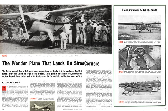 Article Preview: The Wonder Plane That Lands On Street Corners, November 1953 | Maclean's