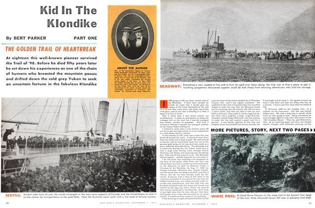 Article Preview: Kid In The Klondike, November 1953 | Maclean's