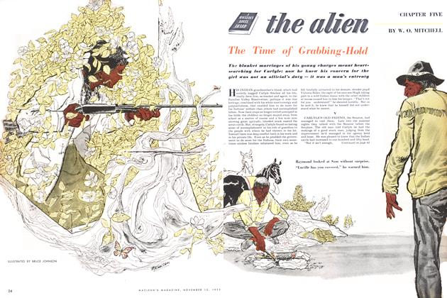 Article Preview: the alien, November 1953 | Maclean's