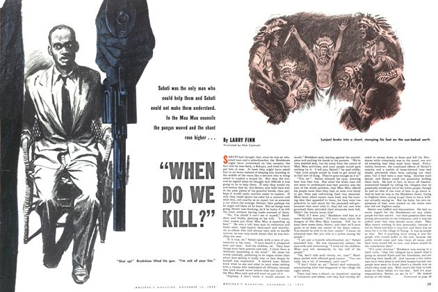 "Article Preview: ""WHEN DO WE KILL?"", November 1953 