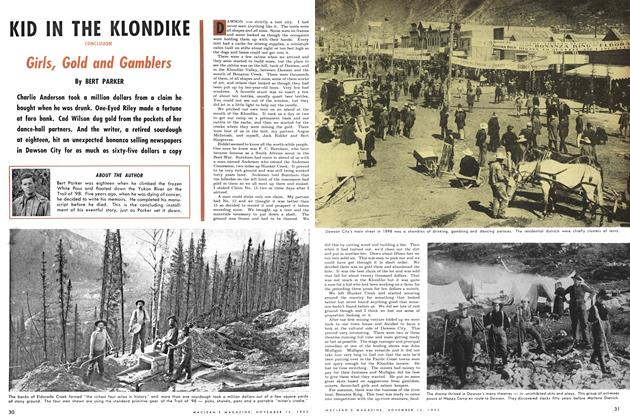 Article Preview: KID IN THE KLONDIKE, November 1953 | Maclean's