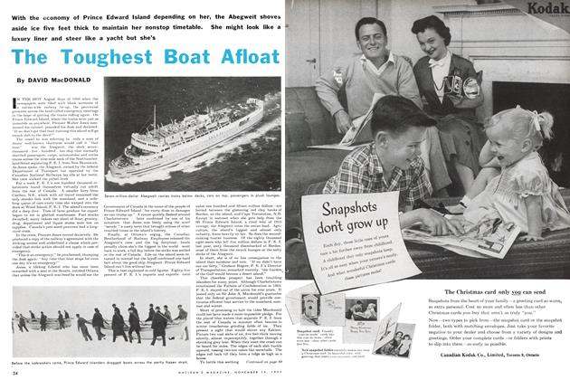 Article Preview: The Toughest Boat Afloat, November 1953 | Maclean's