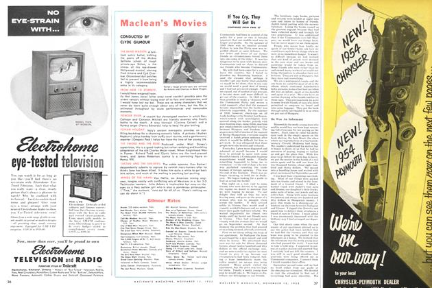 Article Preview: Maclean's Movies, November 1953 | Maclean's