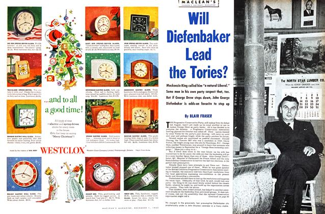 Article Preview: Will Diefenbaker Lead the Tories?, December 1953 | Maclean's