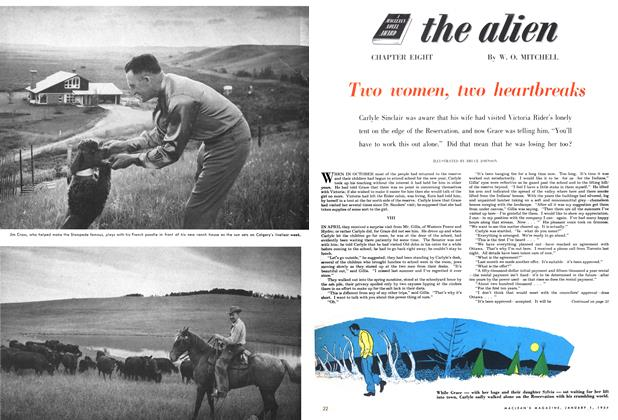 Article Preview: Two women, two heartbreaks, Jan - Dec. 1954 1954 | Maclean's