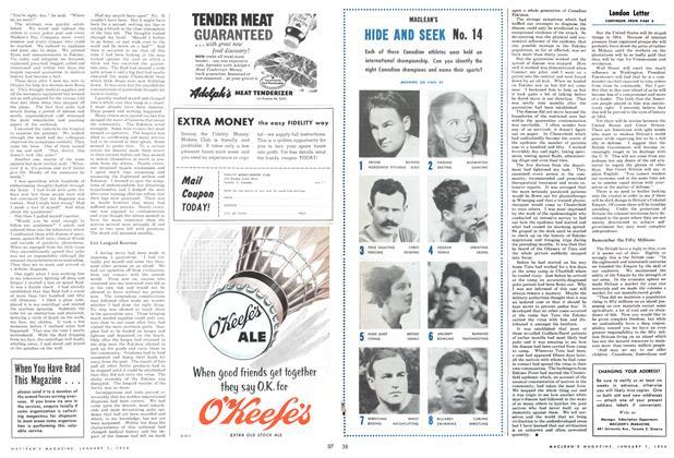Article Preview: London Letter, Jan - Dec. 1954 1954 | Maclean's
