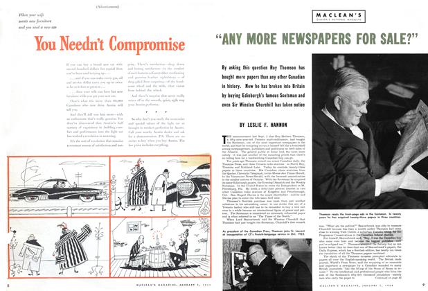 "Article Preview: ""ANY MORE NEWSPAPERS FOR SALE?"", Jan - Dec. 1954 1954 
