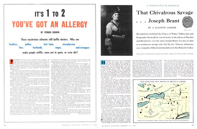 Article Preview: That Chivalrous Savage . . . Joseph Brant, January 1954 | Maclean's
