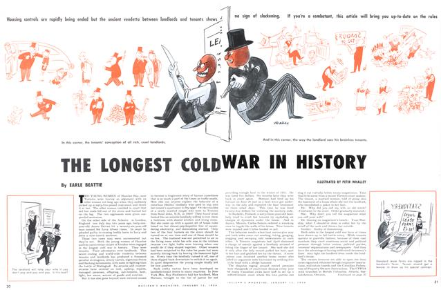 Article Preview: THE LONGEST COLD WAR IN HISTORY, January 1954 | Maclean's