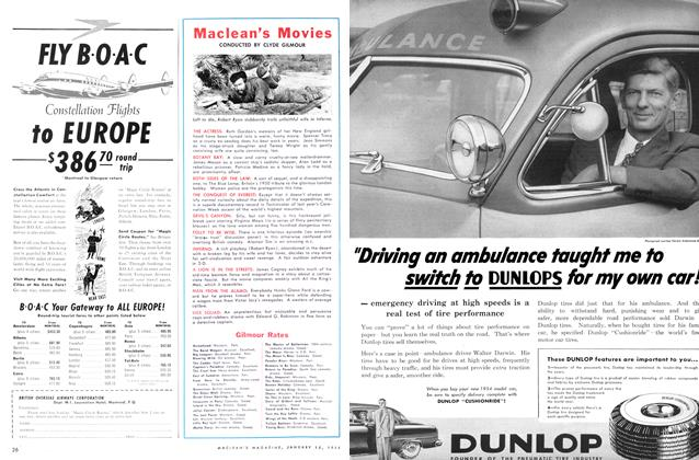 Article Preview: Maclean's Movies, January 1954 | Maclean's