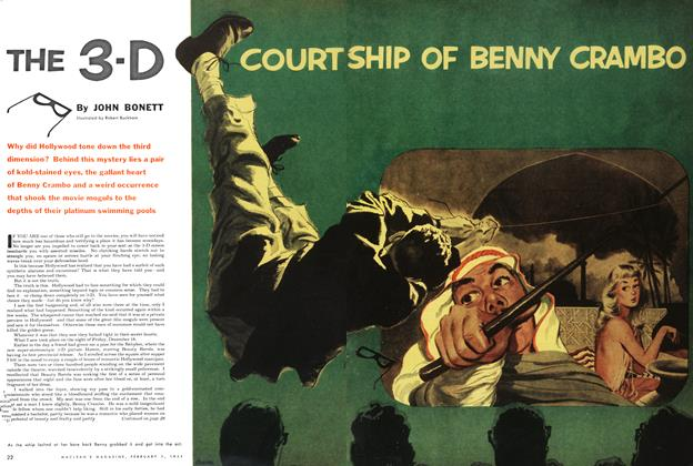 Article Preview: THE 3-D COURT SHIP OF BENNY CRAMBO, February 1954 | Maclean's