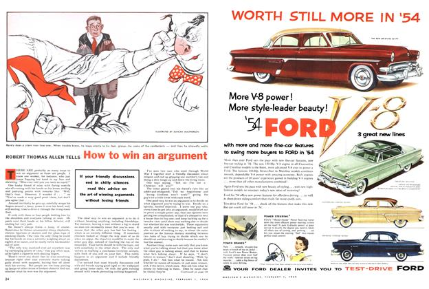 Article Preview: How to win an argument, February 1954 | Maclean's